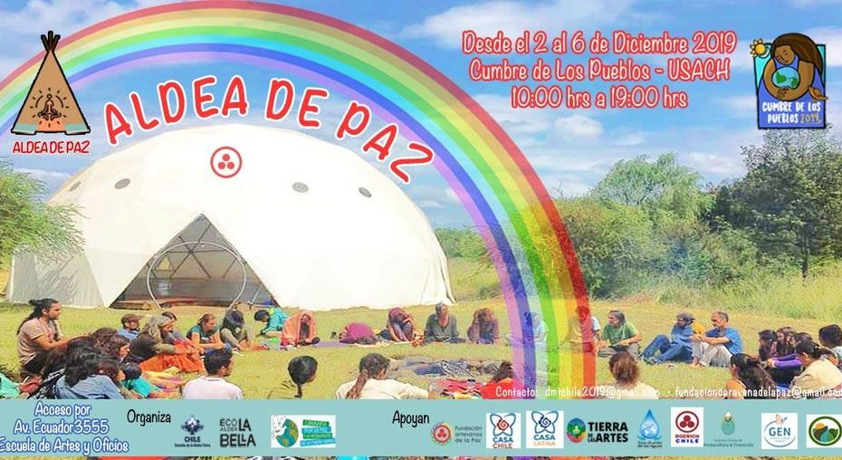 Aldea de Paz por los Derechos de la Madre Tierra y el Buen vivir - Cumbre de los Pueblos, Santiago de Chile